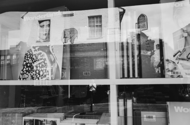 Reflections - Jackman Street - Street Photography 2015