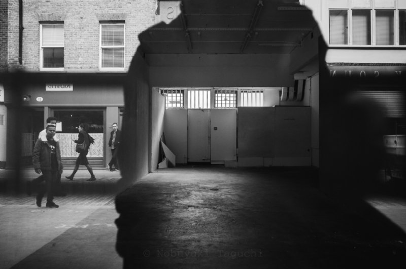 The empty shop at Berwick Street in London - Street Photography 2015