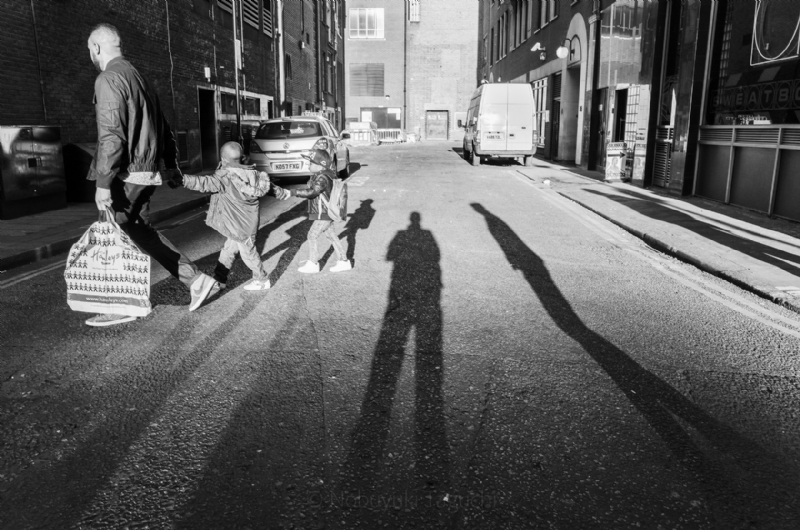 Casting shadow - Street Photography 2015