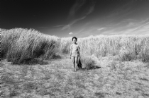 Black and White Photography Ryuichi at Camber Sands - black and white photography