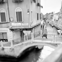 Sotoportego de Ca Bernardo, Venice Italy 2011 - black and white photography