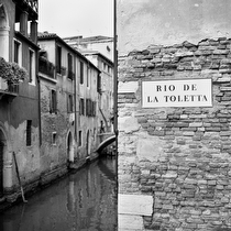 Rio de La Toletta, Venice 2011, Venice 2011 - black and white photography