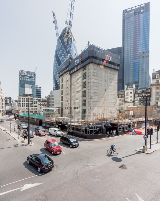 100 Bishopsgate London June 2016 - Concrete Tower