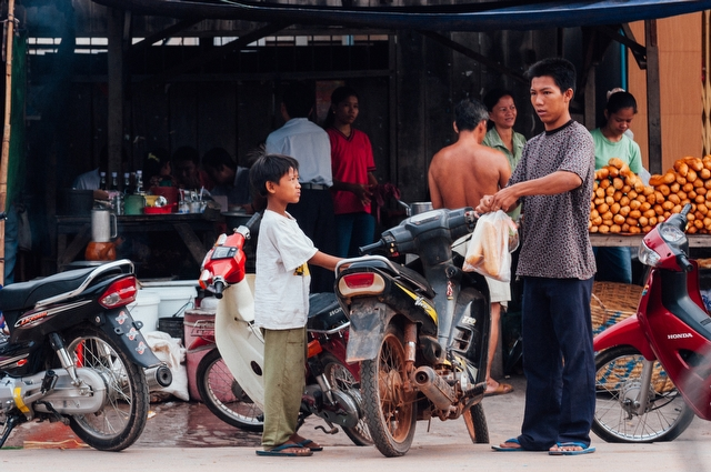 People of Cambodia - 写真 3956
