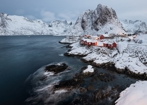 Lofoten Landscape Photography - Hamnoy Bridge - landscape photography
