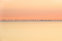 Offshore wind power - landscape photography