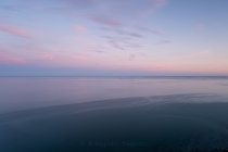 Evening, sea horizon - landscape photography