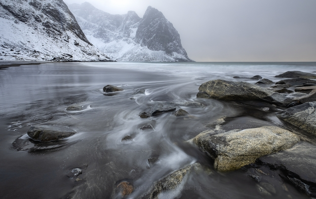Kvalvika Beach - Norway Lofoten Landscape Photography